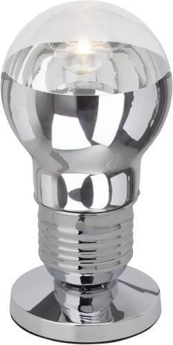 Lampe de table Brilliant Bulby 42 W chrome, transparent