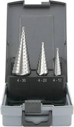 Set de forets étagés HSS TOOLCRAFT 821395 4 - 12 mm, 4 - 20 mm, 6 - 30 mm 1 set - 3 pièces