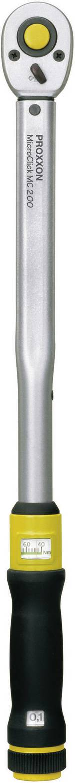 """Proxxon Industrial MicroClick MC 200 23353 Clé dynamométrique avec cliquet réversible 1/2"""" (12.5 mm) 40 - 200 Nm"""