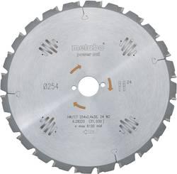 """Lames de scie circulaire pour métal dur """"power cut"""" HW/CT 254 x 30 60 WZ Metabo 628222000 Diamètre: 254 mm Nombre de den"""