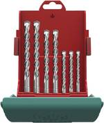 Set de forets pour marteau-perforateur 7 pièces SDS-Plus 5 mm, 6 mm, 6 mm, 8 mm, 8 mm, 10 mm, 12 mm Heller 16315 6 1 s