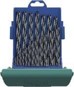 HSS Set de forets pour le métal 19 pièces Heller 17737 5 laminé au rouleau DIN 338 tige cylindrique 1 set