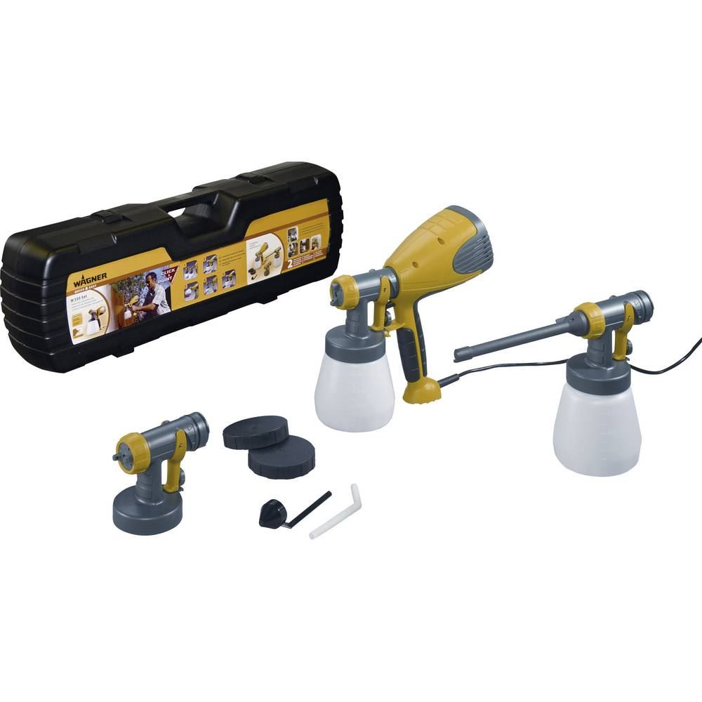 set pistolet peinture basse pression wagner w550 set sur le site internet conrad 826991. Black Bedroom Furniture Sets. Home Design Ideas