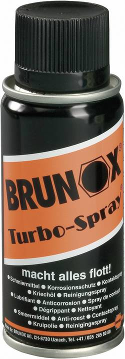 Spray multifonctions Brunox TURBO-SPRAY BR0,10TS 100 ml