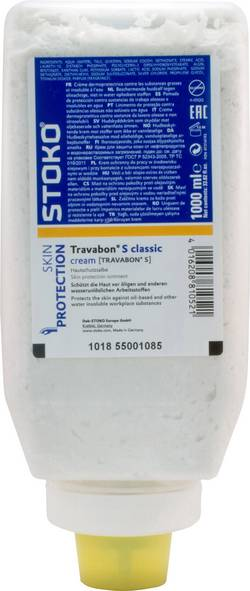 Crème protectrice pour la peau Deb Stoko Travabon® S classic cream 22325 1 pc(s)