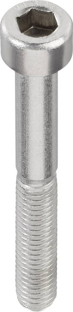 Vis cylindrique TOOLCRAFT 888754 1 pc(s) M5 12 mm tête cylindrique 6 pans intérieurs acier inoxydable N/A