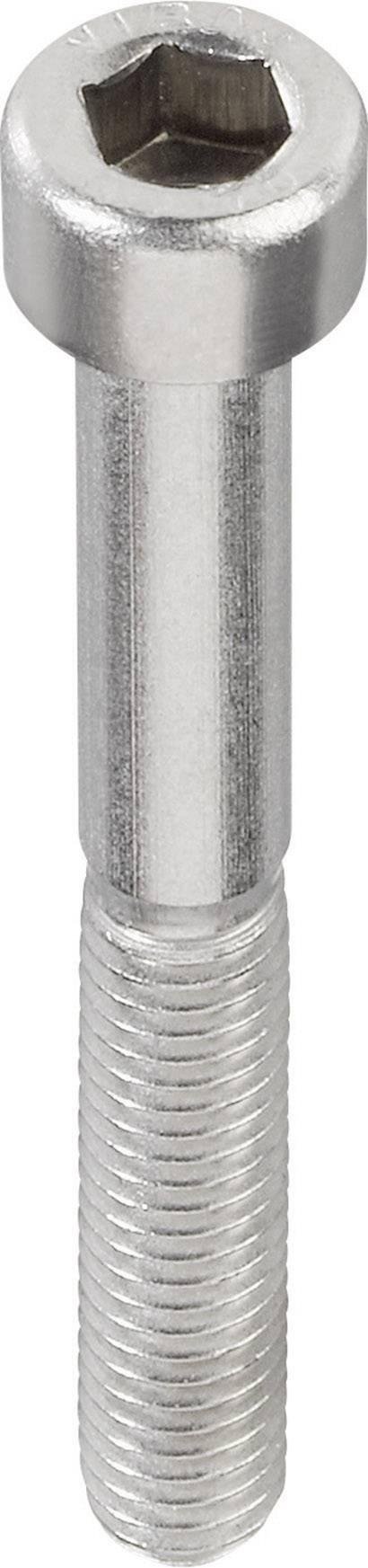Cylindre Vis tête cylindrique en acier inoxydable m4x30-din912