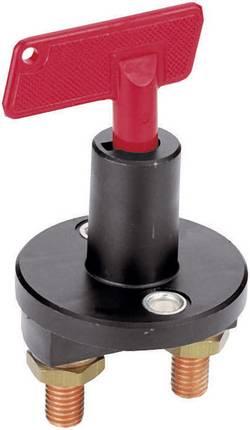 Hella Interrupteur de sécurité pour l'automobile 6EK 002 843-002 12 V/DC 50 A 1 x Off/On à accrochage IPX2 (DIN 40050) 1