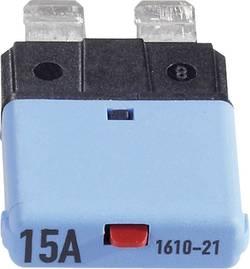 Disjoncteur pour fusible plat standard 15 A 1610 CE1610-21-15A bleu 1 pc(s)