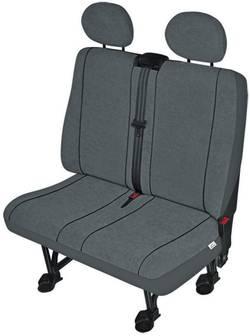 Housse de siège 1 pièce 22412 polyester anthracite double siège