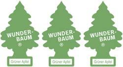 Carte désodorisante Wunder-Baum 171207 pomme / pomme verte 3 pc(s)