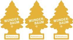 Carte désodorisante Wunder-Baum 171204 noix de coco 3 pc(s)