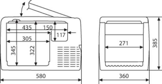 Glaci re compresseur waeco coolfreeze cf 35 31 l 12 v - Code promo conrad frais de port gratuit ...
