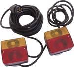 Kits d'éclairage avec supports magnétiques