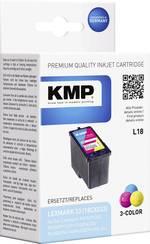 Cartouche d'encre compatible KMP équivalent Lexmark N°33 (18CX033) couleur