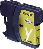 Cartouche d'encre pour imprimante Brother LC1100HYY jaune