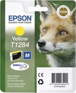 Cartouche d'encre Epson T128440 (renard) jaune