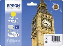Cartouche d'encre Epson T7034 jaune C13T70344010
