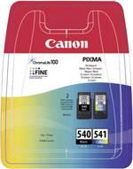Pack de cartouches d'origine Canon PG-540, CL-541 noir, cyan, magenta, jaune