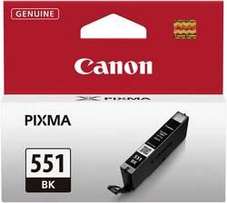 Cartouche d'encre originale Noire CANON CLI-551BK, 6508B001