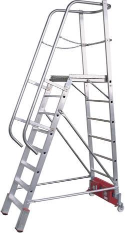 Escabeau à plate-forme aluminium Krause 833372 Hauteur de travail (max.): 5.30 m 54 kg 1 pc(s)