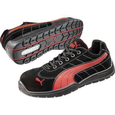 mode designer a38d8 80b98 PUMA Safety SILVERSTONE LOW HRO SRC 642630 Chaussures de sécurité S1P  Taille: 45 noir, rouge 1 paire