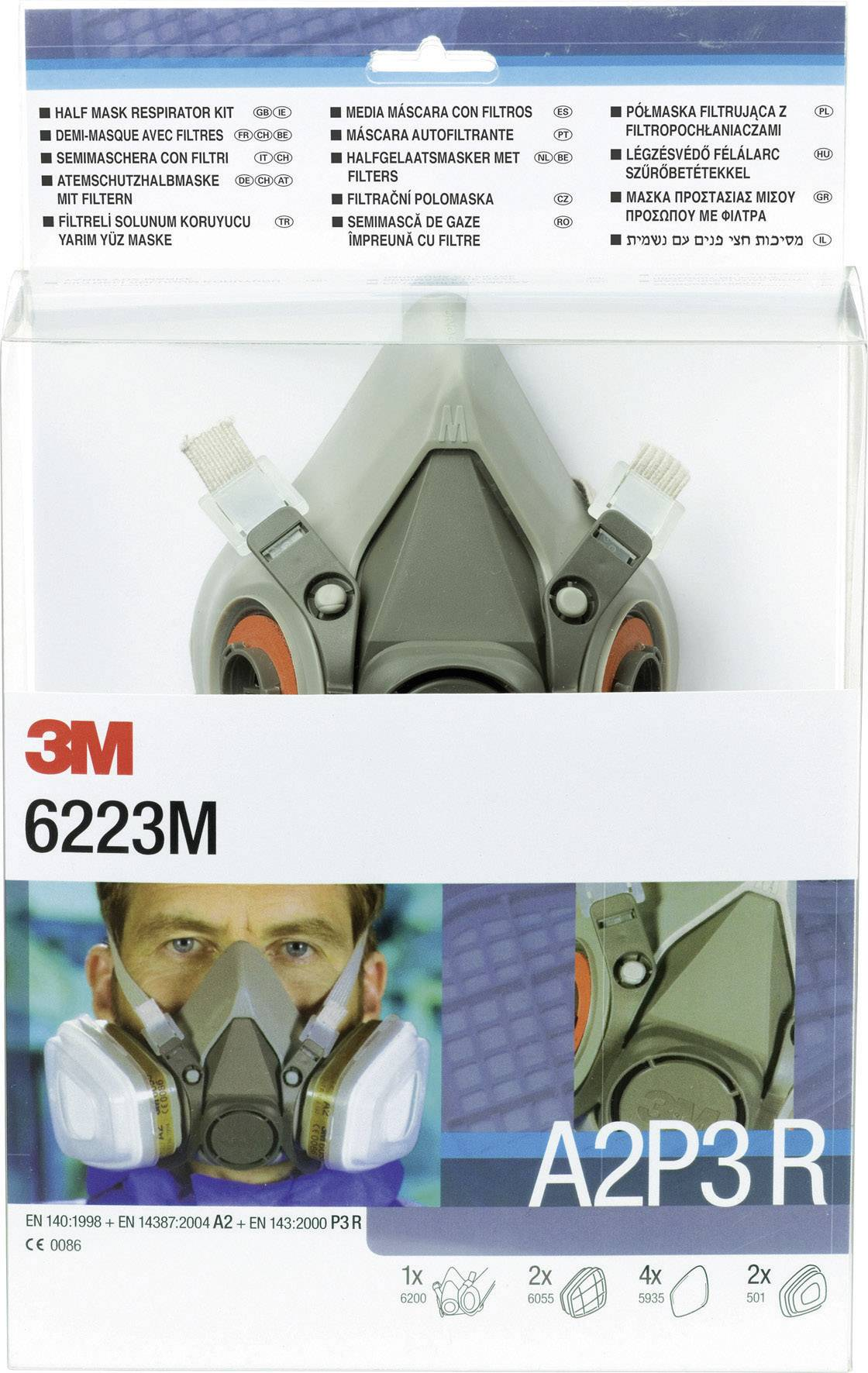cartouche masque 3m 6055