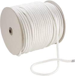 Corde en polyester 20054 (Ø x L) 5 mm x 100 m blanc