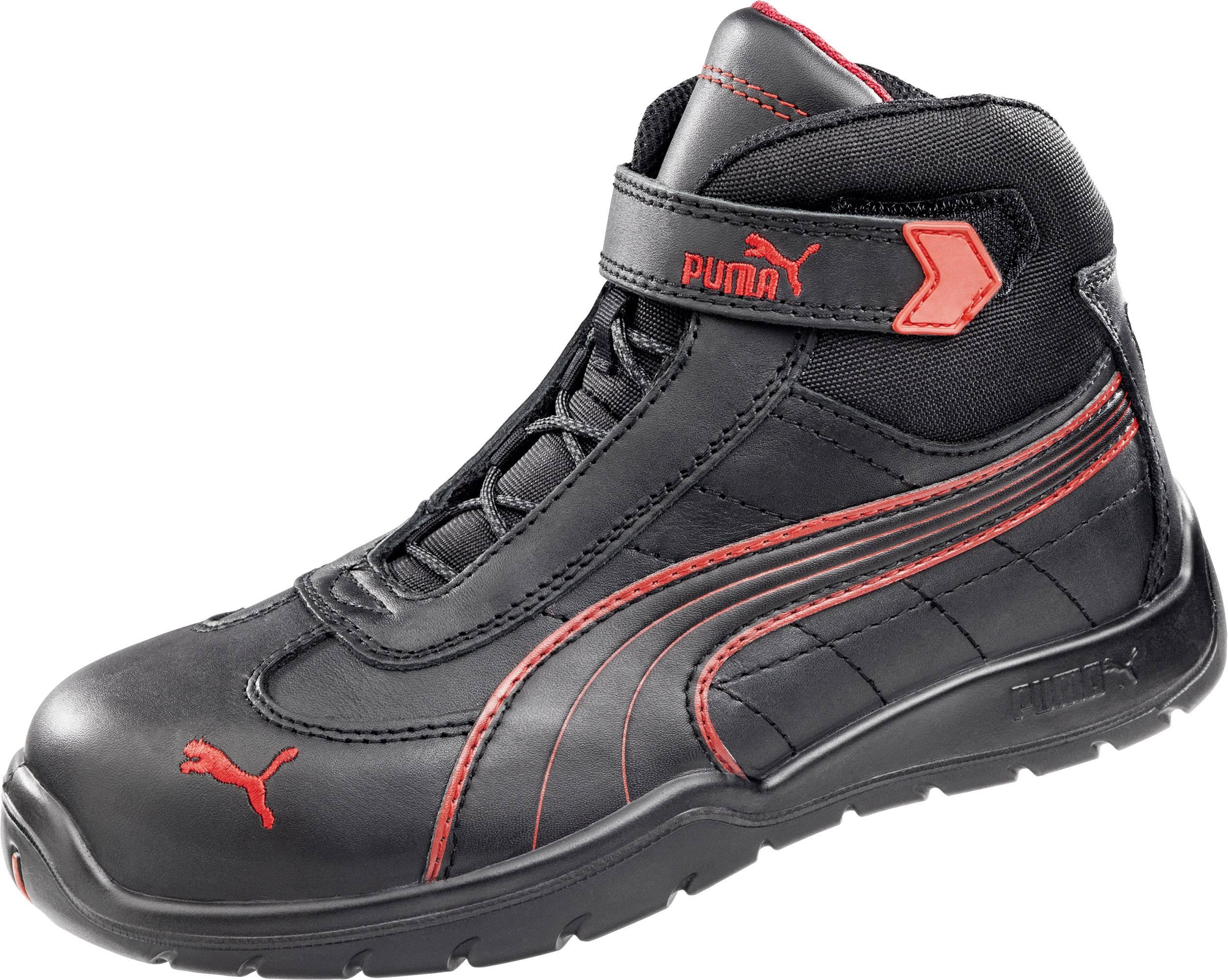 PUMA Safety DAYTONA MID HRO SRC 632160 Chaussures montantes de sécurité S3 Taille: 46 noir 1 paire