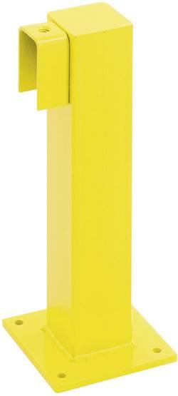 Poteau pour barrière de protection MORION, pour extrémité de rampes de mains et de genoux Moravia 194.15.765
