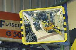 Miroir pour l'industrie 800 x 1000 mm Moravia 253.18.463
