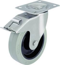 Roulettes fixes pour charges lourdes Modèle Roulette Stop Fix 100 mm Blickle LEX-POEV 100KD-SG-FI
