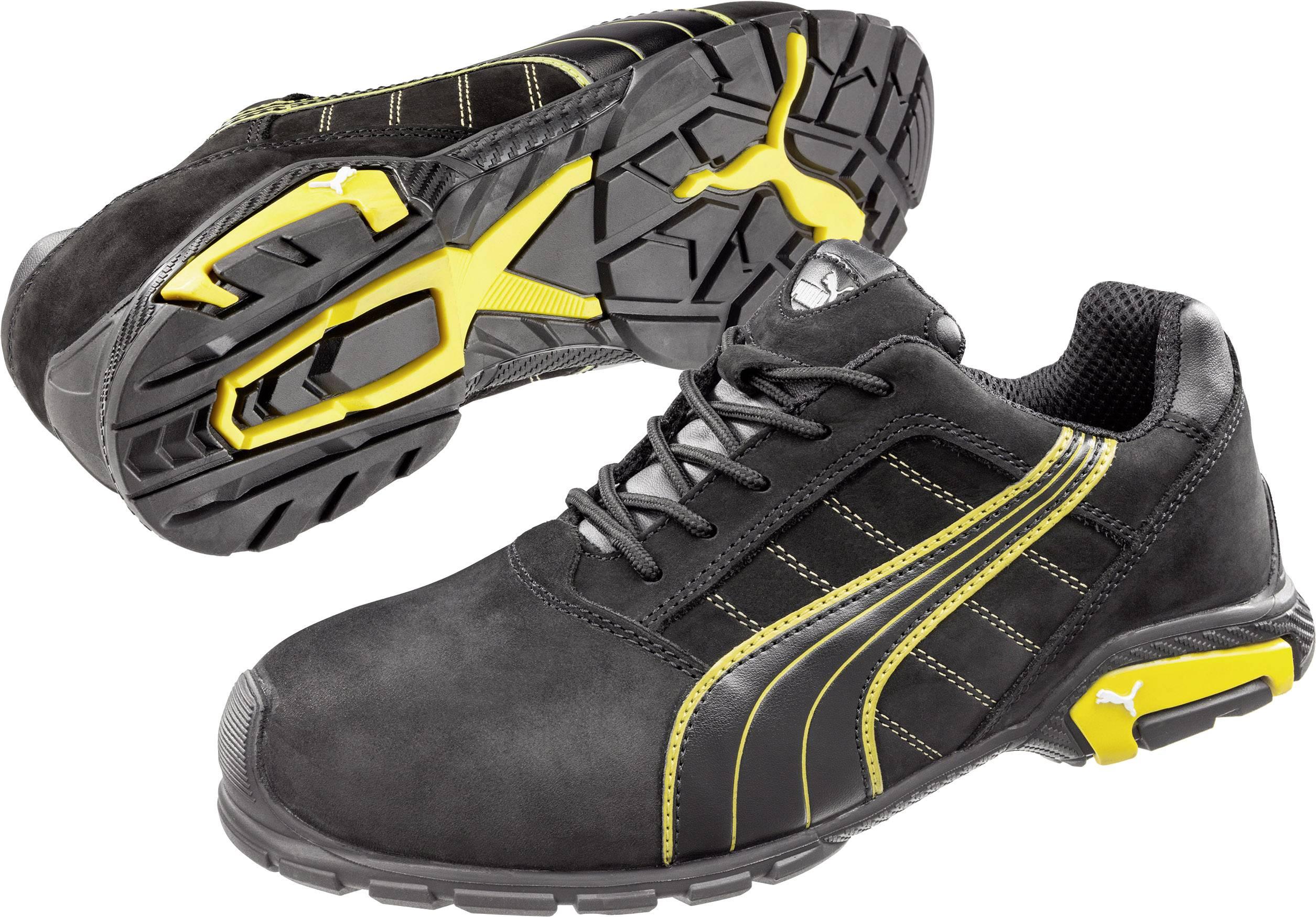 Chaussures de sécurité S3 PUMA Safety Amsterdam Low 642710 Taille: 41 noir, jaune 1 paire(s)