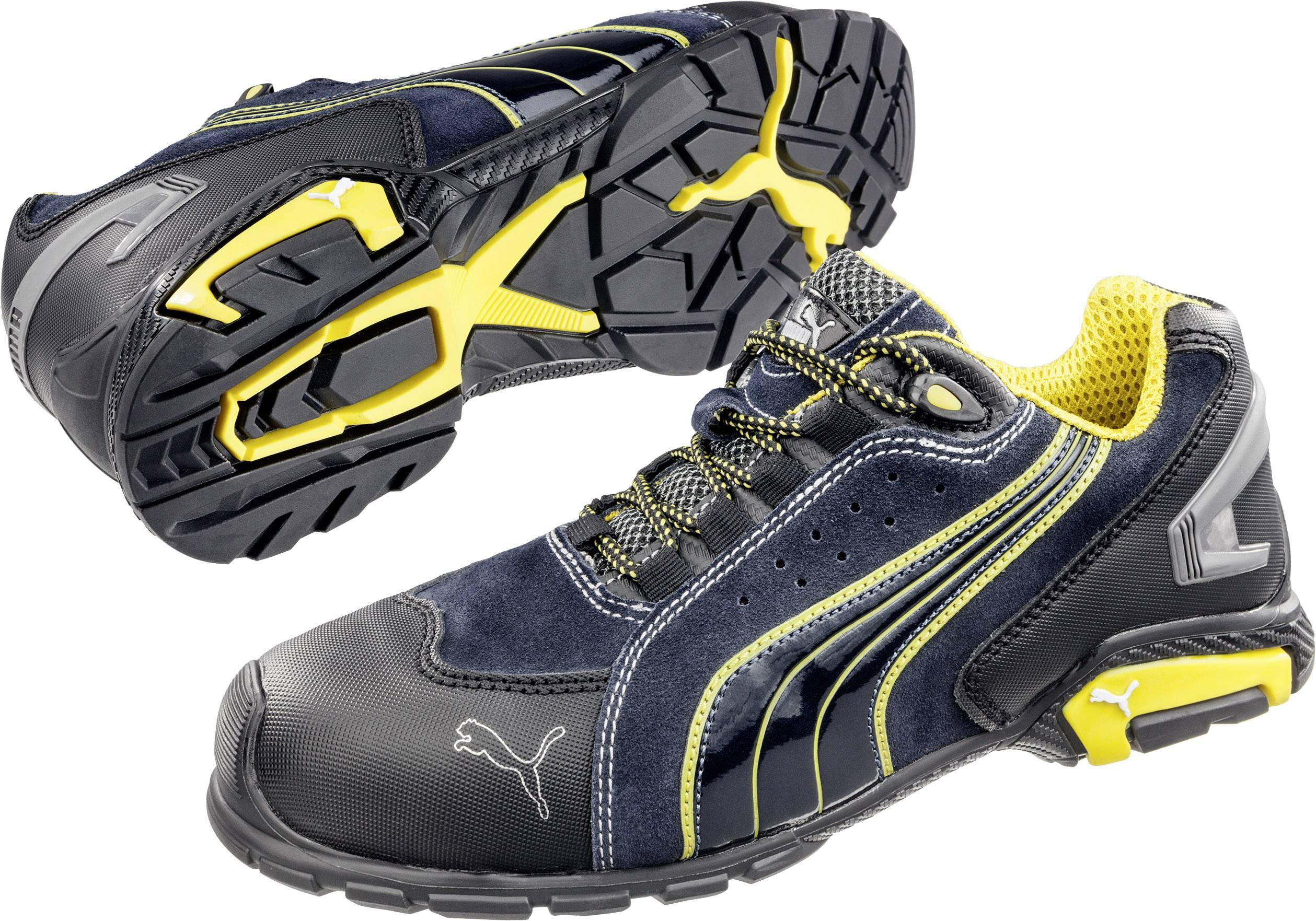 Chaussures basses de sécurité S1P Taille: 41 PUMA Safety Metro Protect 642730 coloris noir, bleu, jaune 1 paire