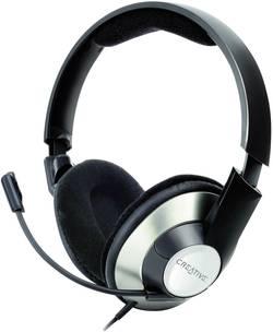 Micro-casque PC circum-aural filaire, stéréo Creative HS-620 noir,argent