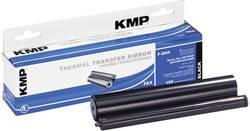 Ruban, rouleau à transfert thermique compatible KMP F-SH4 Sharp UX-6CR noir 150 pages 1 rouleau(x)