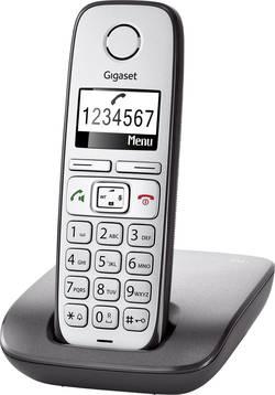 Téléphone sans fil pour séniors Gigaset E310 fonction mains libres écran éclairé argent, anthracite