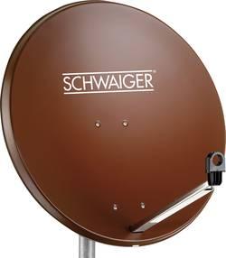 Antenne SAT 80 cm Schwaiger SPI996.2 Matériau du réflecteur: acier rouge brique