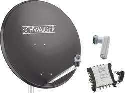 Système SAT sans récepteur Schwaiger SPI9961SET6 Nombre d'abonné(s): 8