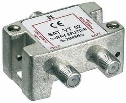 Répartiteur SAT 2x Goobay SAT VT 02 5 - 2450 MHz