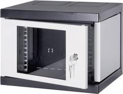 """Armoire baie de brassage 10"""" Schroff 10238-152 gris-noir - 8 UH HE 25.4 cm"""