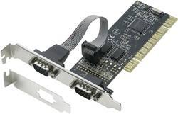 2 ports Carte enfichable sérielle PCI