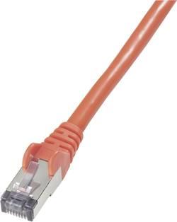 Câble de raccordement réseau RJ45 CAT 6 S/FTP Goobay - [1x RJ45 mâle - 1x RJ45 mâle] - 15 m -