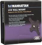 Manhattan Support mural pour écran LCD, Support pour un seul écran, montage fixe