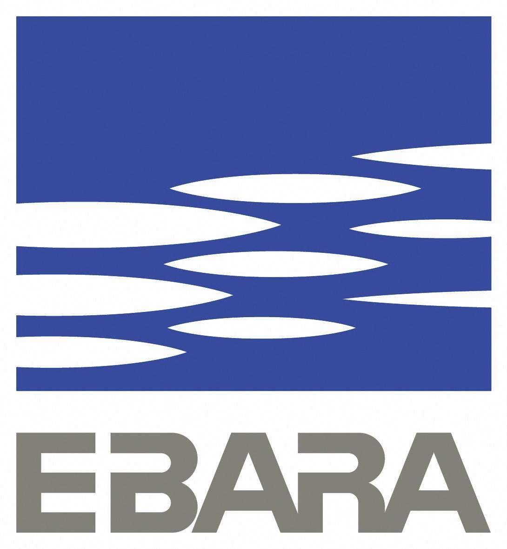Pompe submersible pour eaux charg/ées Ebara Right 75 MA 1000 W