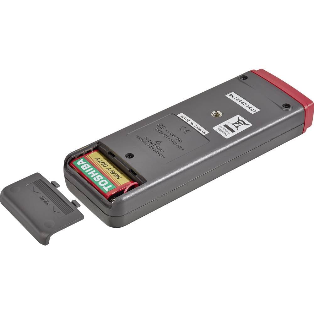 Mjerač temperature VOLTCRAFT K204 Datalogger -200 do +1370 °C senzor tipa K funkcija zapisivača podataka kalibriran prema: tvorn