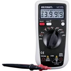 Ročni multimeter, digitalni VOLTCRAFT VC175 kalibracija narejena po: delovnih standardih, CAT III 600 V število znakov na zaslon