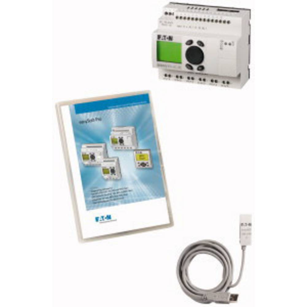 SPS-začetni komplet Eaton easy-MAXI-Box-USB AC 116560 115 V/AC, 230 V/AC