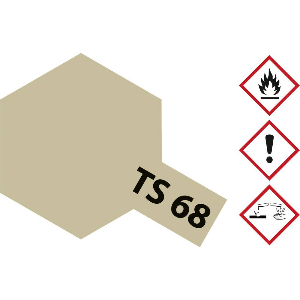 Akrilna barva v razpršilu Tamiya, barva: Wooden Deck, barvna koda: TS-68, 100 ml 85068