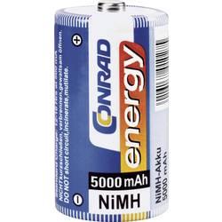 Akumulatorska baterija tipa D (Mono) NiMH Conrad energy HR20 5000 mAh 1.2 V 2 kosa